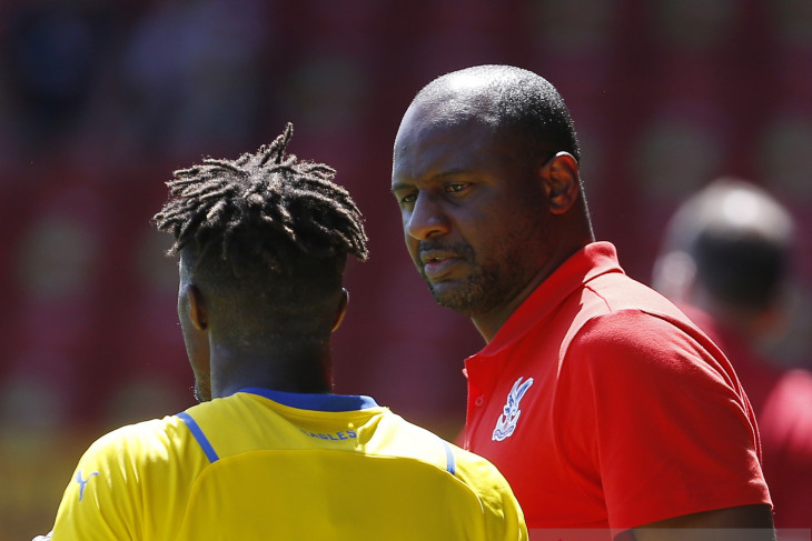 Pelatih Crystal Palace Patrick Vieira ingin pertahankan Wilfried Zaha