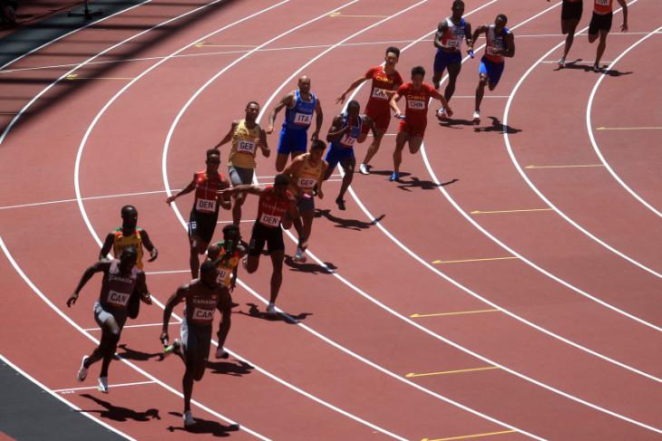 AS tidak lolos final estafet 4x100m putra Olimpiade Tokyo