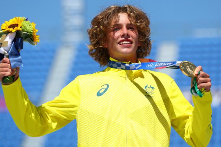 Olimpiade Tokyo: Remaja Australia bawa  pulang emas skateboard park putra