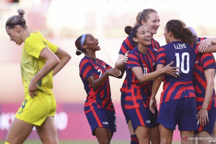 Kalahkan Australia 4-3, Amerika Serikat raih medali perunggu