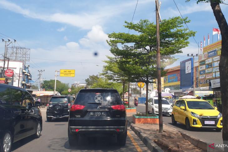 Asap karhutla ganggu jalan lintas Palembamg-Indralaya, sopir mengeluh