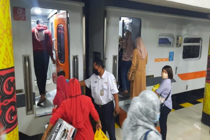 Jumlah penumpang kereta api di  Sumut-Aceh tren naik