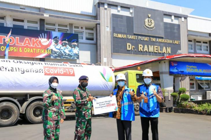 PLN salurkan 12 ton oksigen untuk RS Rujukan COVID-19 di Jatim