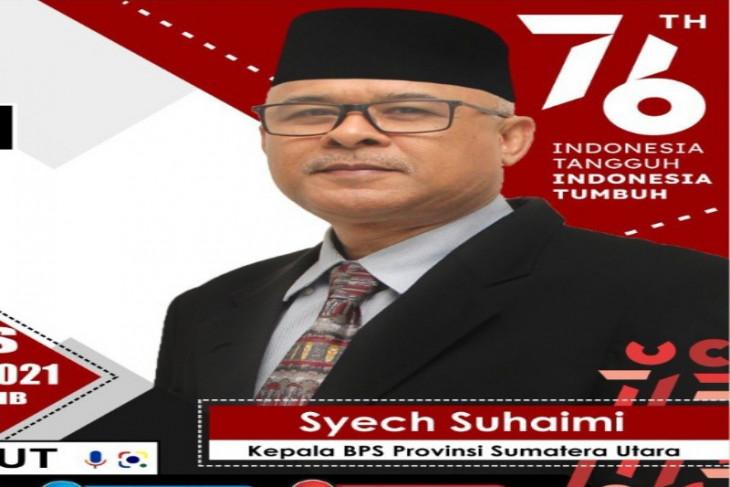 Ekonomi Sumatera Utara  tumbuh 4,95 persen