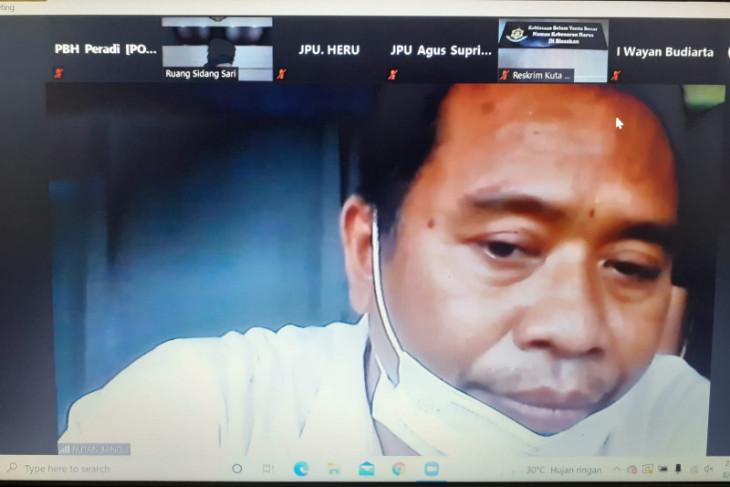 PN Denpasar adili oknum polisi karena jadi perantara narkoba