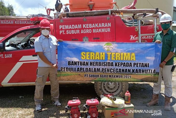 PT Subur Agro Makmur libatkan kelompok tani cegah Karhutla