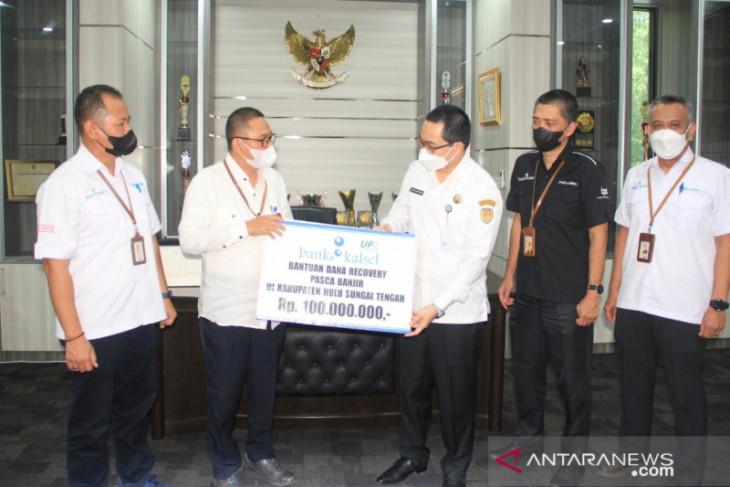 HST terima bantuan pemulihan pascabanjir senilai Rp100 juta dari UPZ Bank Kalsel