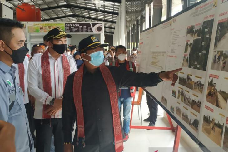 Ketua Komisi V DPR RI pantau pembangunan jalan pararel perbatasan