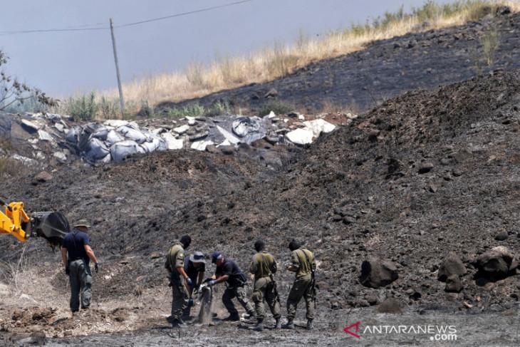 Pesawat Israel serang lokasi peluncuran roket di Lebanon