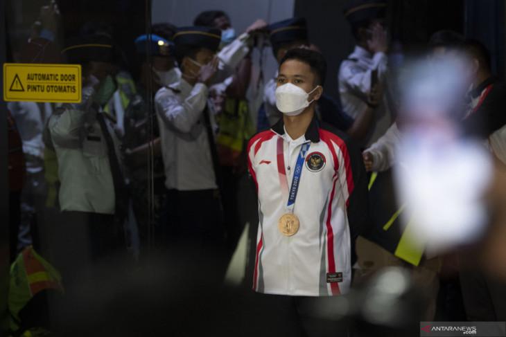 Medali perunggu Olimpiade Tokyo jadi motivasi Ginting raih gelar lain