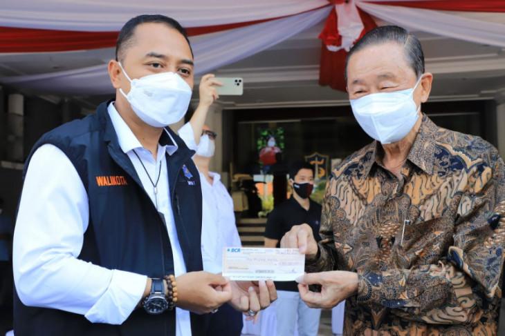 Hartono bantu Rp2 miliar untuk penanganan COVID-19 di Kota Surabaya
