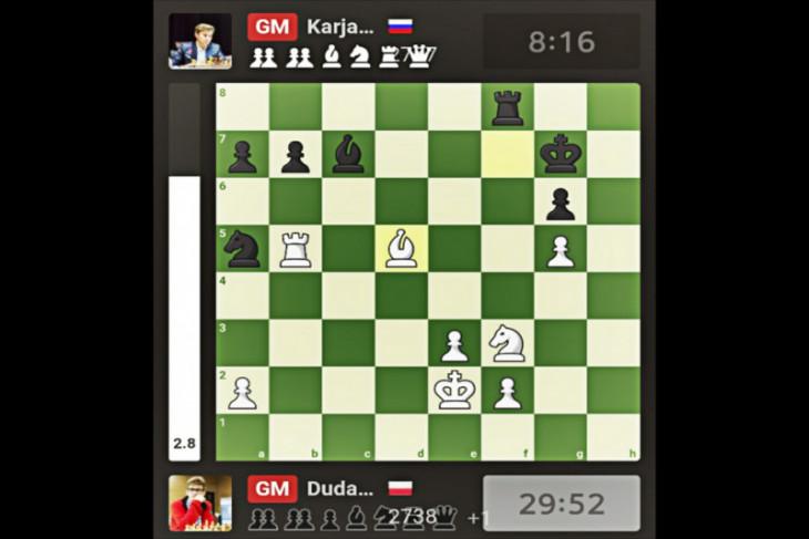 Duda raih gelar juara Piala Dunia Catur FIDE 2021