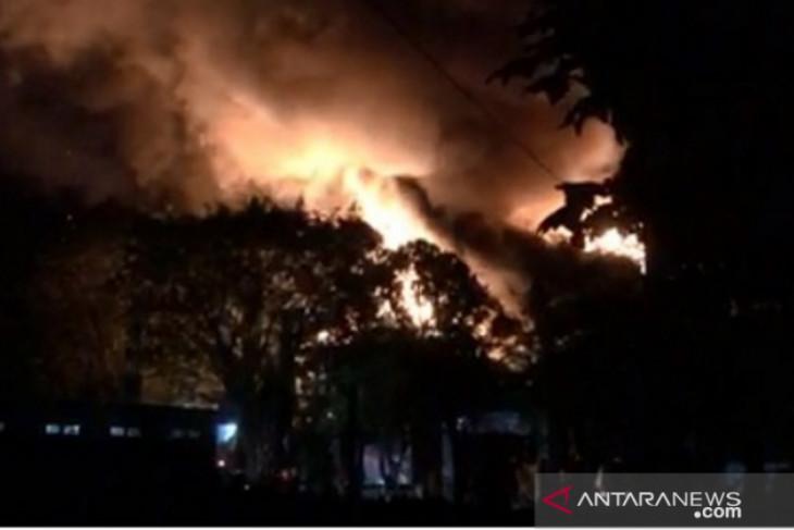 Kantor Bappelitbangda HSS terbakar
