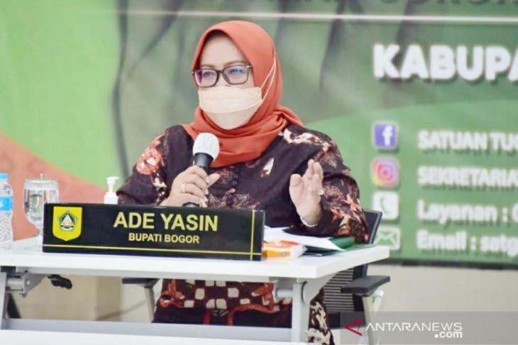 Cakupan vaksinasi COVID-19 di Kabupaten Bogor masih tergolong rendah