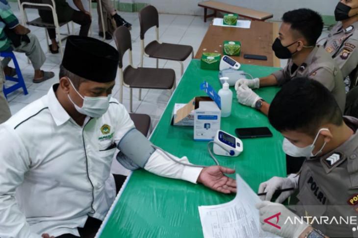 Polda Kalbar dan LDII gelar vaksinasi COVID-19 dosis kedua