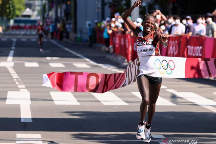 Olimpiade Tokyo: Jepchirchir sumbang emas maraton putri untuk Kenya