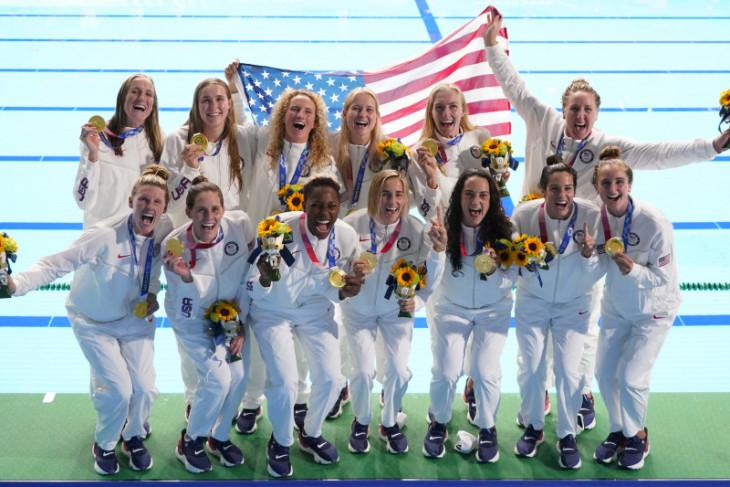 AS pertahankan emas polo air putri tiga Olimpiade berturut-turut