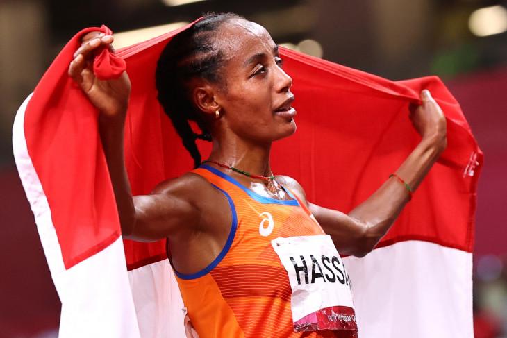 Sifan Hassan persembahkan emas 10.000m putri untuk Belanda