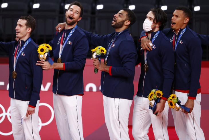 Prancis raih medali emas voli putra Olimpiade