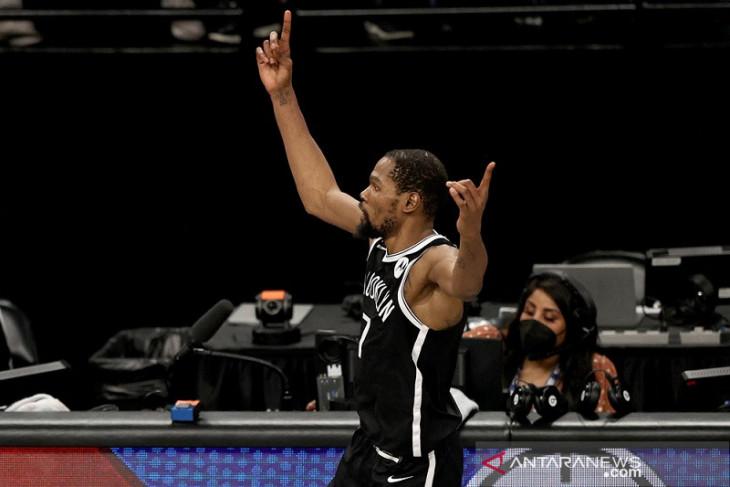 Kevin Durant siap perpanjang kontrak empat tahun di Brooklyn Nets