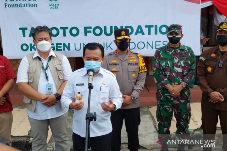 Tanoto Fondation bantu oksigen cair untuk Provinsi Jambi