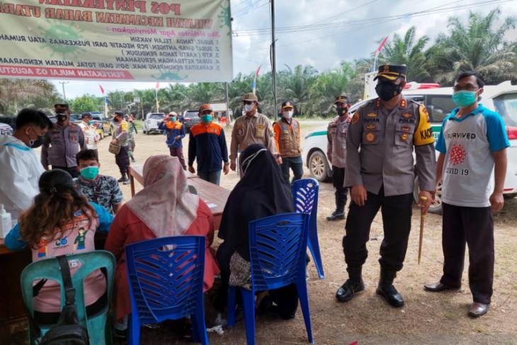 Polres Muarojambi bangun posko penyekatan batas kecamatan