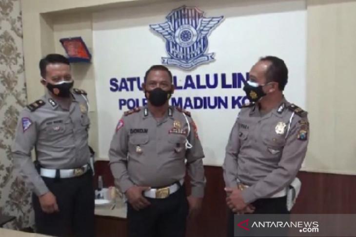Penerapan PPKM turunkan kasus laka lantas di Madiun