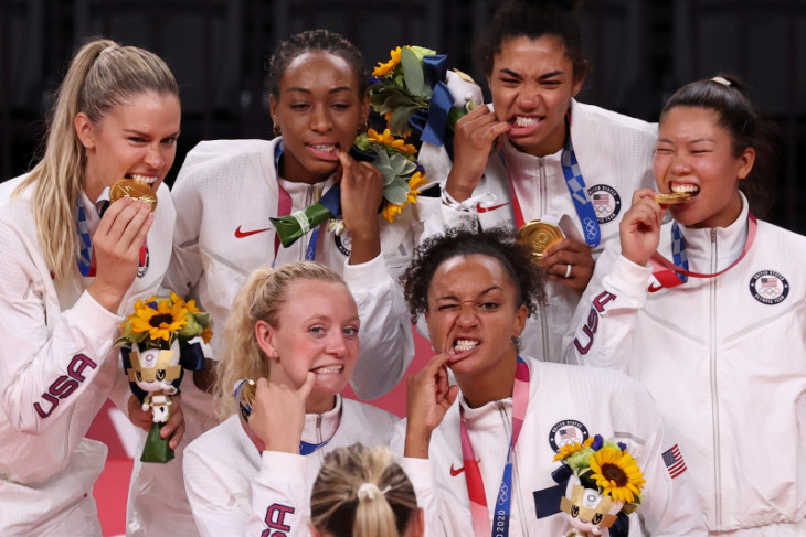Amerika Serikat raih emas voli putri Olimpiade Tokyo