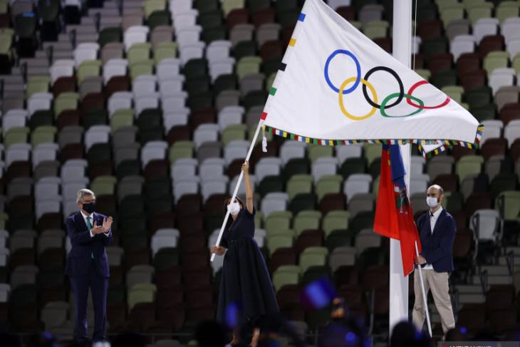 Tokyo serahkan bendera Olimpiade ke Paris