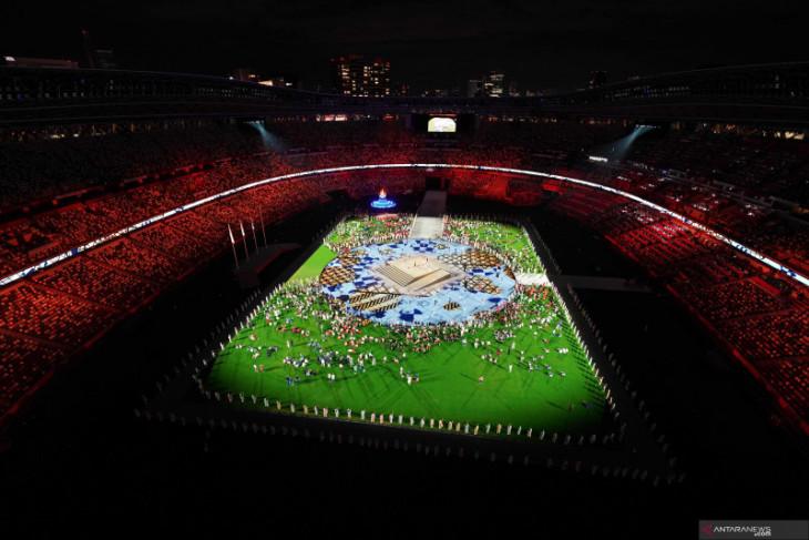 Olimpiade Tokyo 2020 resmi ditutup bersamaan dengan padamnya kaldron