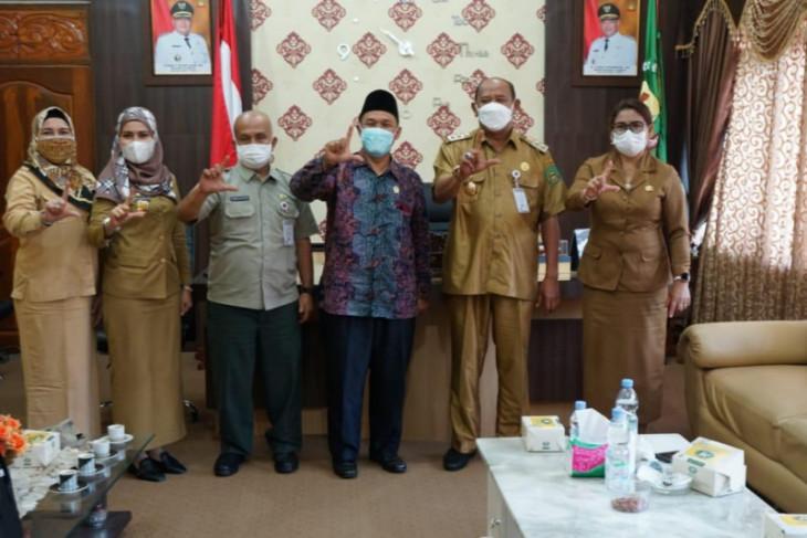 Wabup Langkat terima kunjungan anggota DPRD Sumut