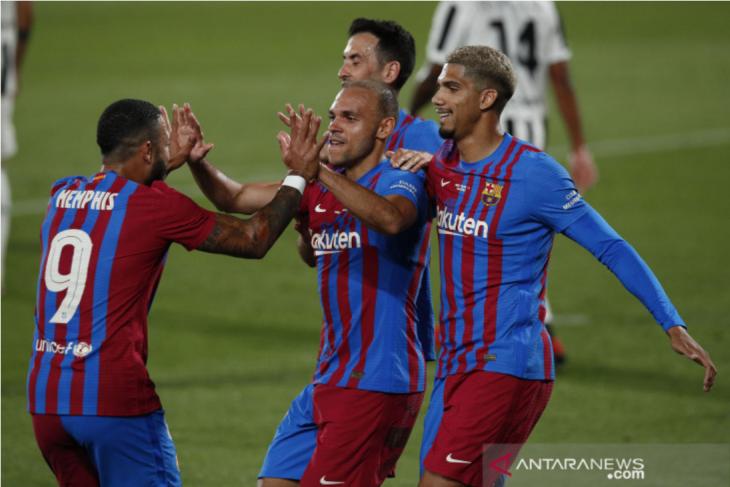 Barca menang telak 3-0 atas Juventus