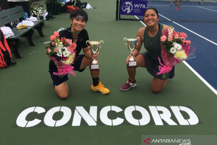 Petenis Indonesia Jessy Rompies raih gelar turnamen WTA