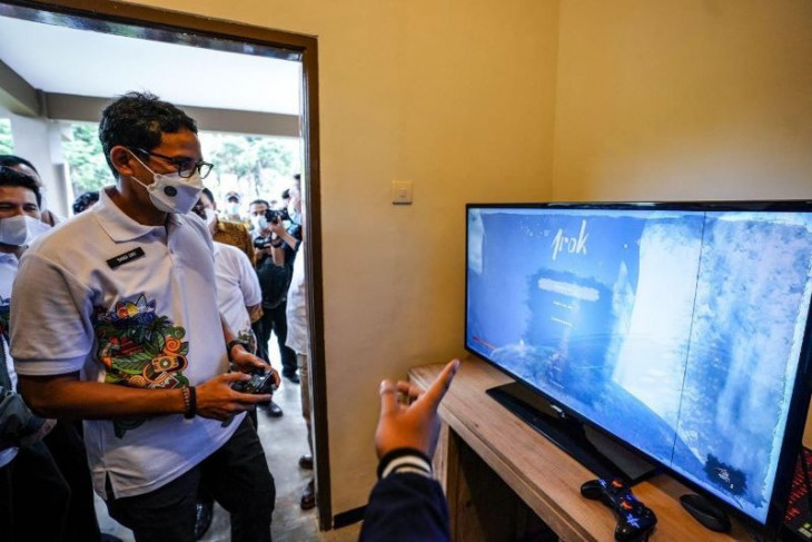 Sandiaga Uno dukung game lokal sebagai subsektor ekonomi kreatif