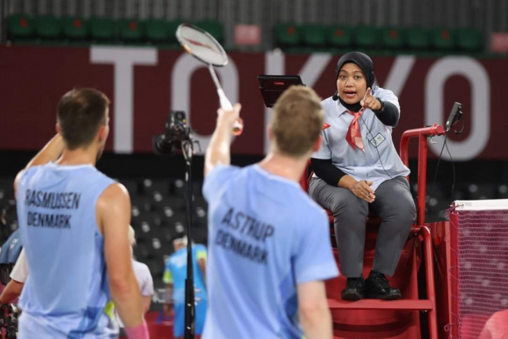 Qomarul Lailah berbagi pengalaman saat jadi wasit di Olimpiade Tokyo