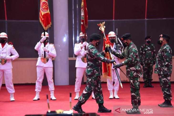 Panglima TNI pimpin Sertijab Pangkogabwilhan I dan Pangkogabwilhan III