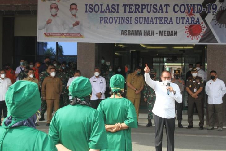 Asrama Haji Medan dioperasikan sebagai tempat isolasi terpusat pasien COVID-19
