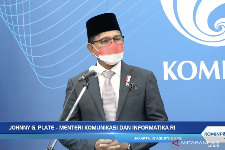 Usman Kansong dilantik menjadi Dirjen Informasi dan Komunikasi Publik Kementerian Kominfo