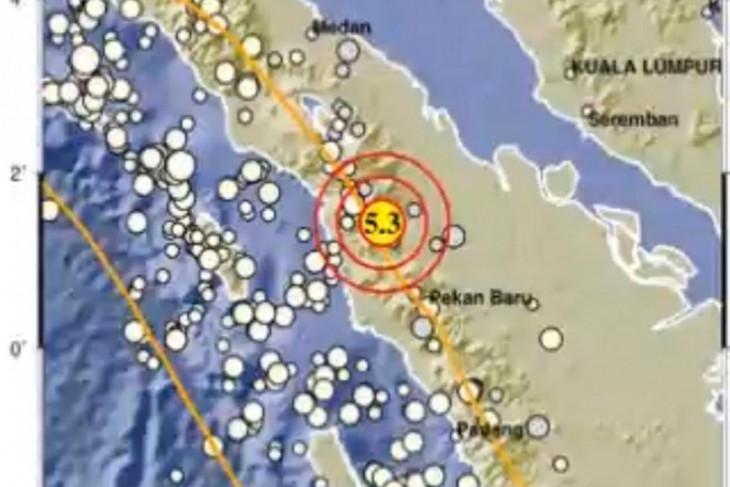 Gempa di Padang Lawas Utara dipicu oleh aktivitas Sesar Sumatera