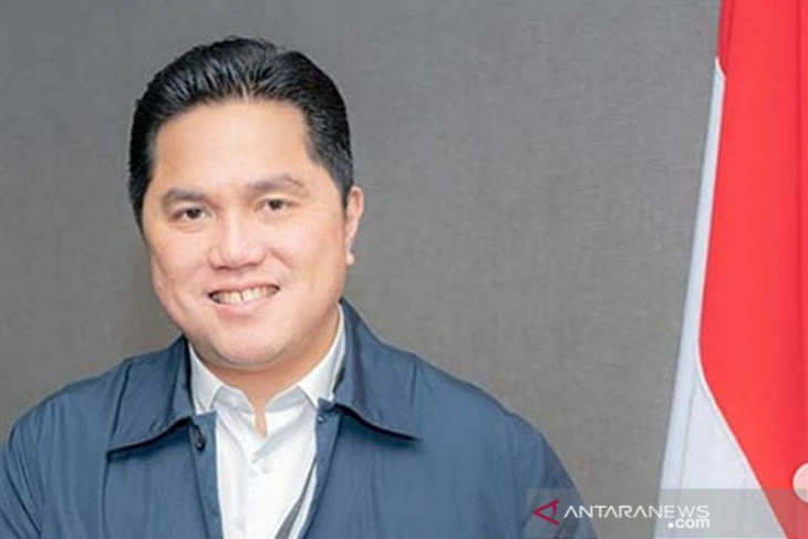 Menteri BUMN Erick Thohir persembahkan puisi bagi pekerja migran Indonesia