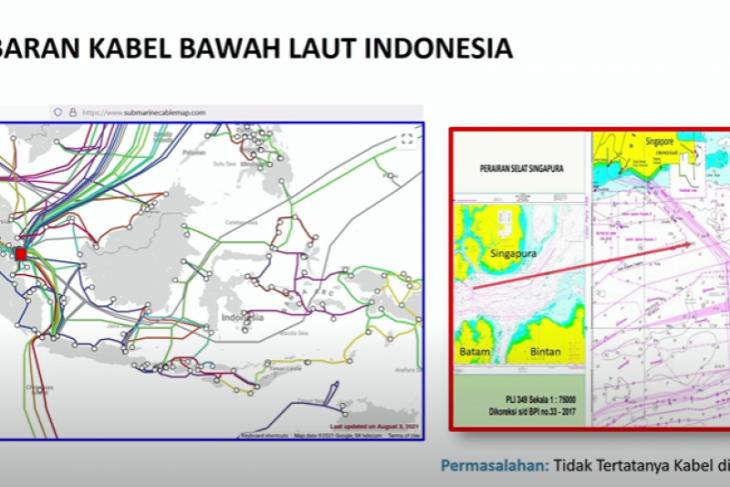 Pemerintah sebutkan penataan kabel laut cegah konflik pemanfaatan