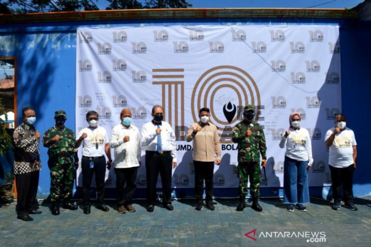 Bupati minta Tirta Bolango terus tingkatkan pelayanan air bersih