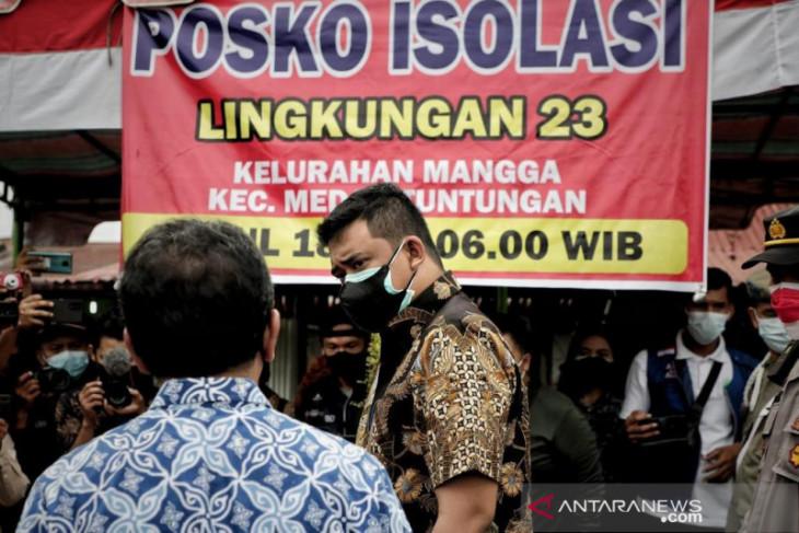 Satgas: 23 lingkungan isolasi di Medan