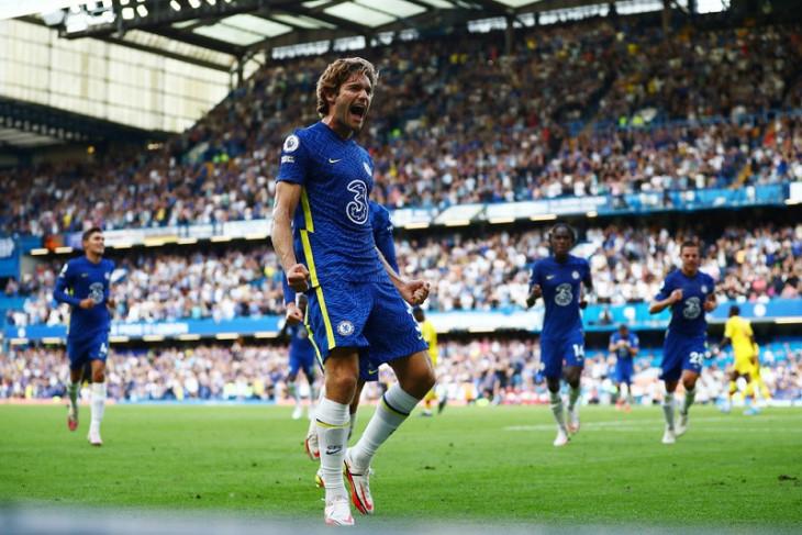 Chelsea mendominasi saat atasi Crystal Palace 3-0