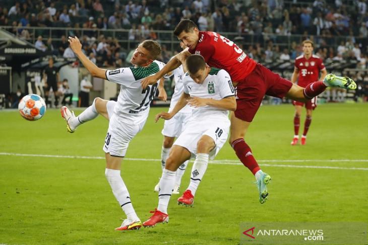 Gladbach dan Bayern berbagi poin buka Liga Jerman