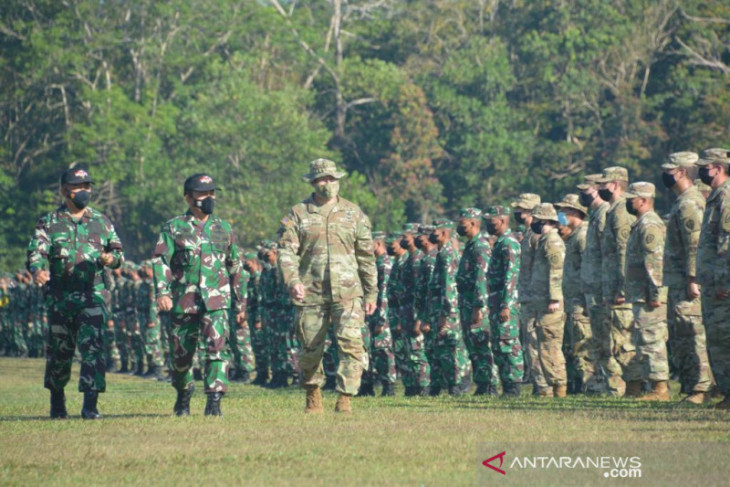 Latma Garuda Shield pererat hubungan Indonesia-AS