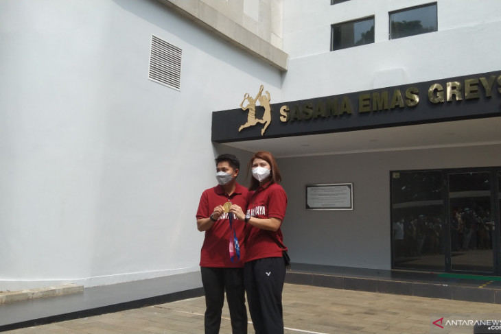 Nama Greysia-Apriani diabadikan jadi nama  gedung olahraga di Jakarta