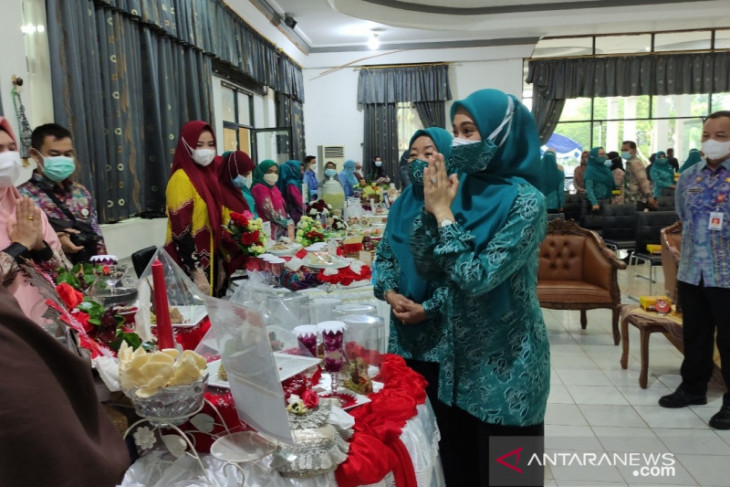 Festival pangan lokal Kabupaten HST dimenangkan oleh Kecamatan Limpasu