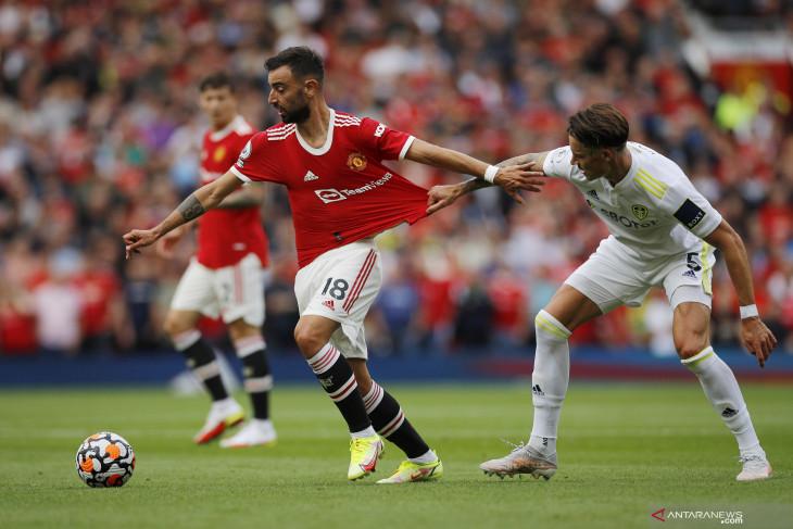 Pertama sejak 2017, Manchester United buka musim di puncak klasemen