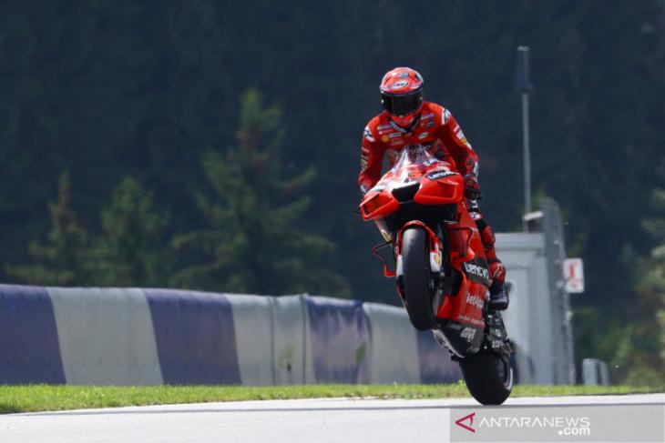 Bagnaia jaga momentum, tercepat di FP3 GP San Marino
